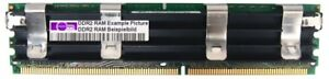 4GB Crucial DDR2-667 PC2-5300F ECC Fb-dimm RAM CT51272AF667 240pin Server Memory