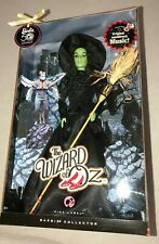 Wicked Witch of West Wizard of Oz Barbie 50th Anniversary NIB Orig. Movie Music