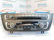 BMW 1 3 SERIES F20 F21 F30 CLIMATE CONTROL HEATER UNIT RADIO CD  13/2