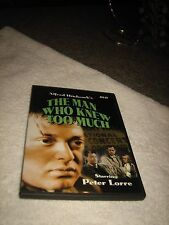 THE MAN WHO KNEW TOO MUCH DVD-ALFRED HITCHCOCK'S-PETER LORRE