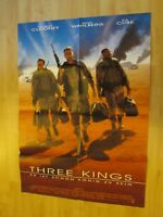 Filmplakat - Three Kings ( George Clooney , Mark Wahlberg , Ice Cube )