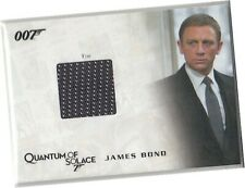 James Bond Archives 2009 - QC25 James Bond's Tie Costume Card 115/250 - D Craig