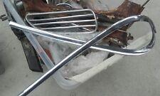 1959 karmann ghia low lite rear quarter trims pair from California rare