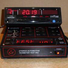 Cygnus LTI400 Horloge Calendrier taximètre MR400 TAXI compteur remis à neuf garanti