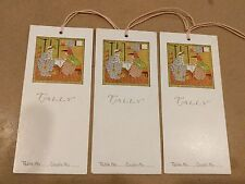 "#VINTAGE Lot of 3 TALLY SCORE CARD ""Kate Greenaway"" 2 x 4.5"""