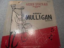 GERRY MULLIGAN QUARTET  VOL. 3     10 INCH  LP      494