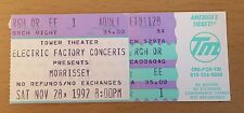 1992 Morrissey Philadelphia Concert Ticket Stub How Soon Is Now The Smiths