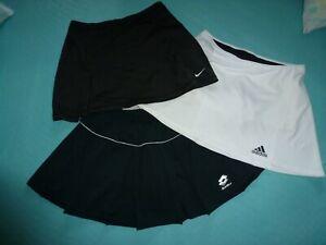Tennisrock Tennis Rock Sport  Adidas Nike Damenrock 3 St. schwarz /weiß TOP !!
