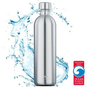 MATE OF STEEL - Moby-Dick - 1.0L Edelstahl-Flasche für SodaStream Easy/Power