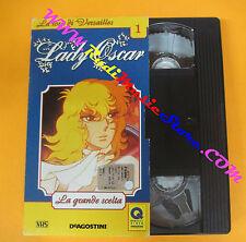 film VHS cartonata LADY OSCAR 1 La grande scelta 2001 (F139) no dvd