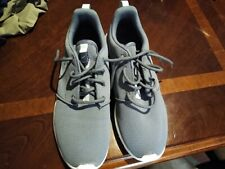 Womens Nike Gray Tennis Shoes!  Worn Once!  Size 8 1/2!