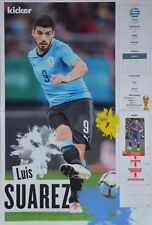 LUIS SUAREZ - A3 Poster (42 x 28 cm) - Fußball WM 2018 Clippings Sammlung NEU