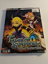 TALES OF SYMPHONIA DAWN OF THE NEW WORLD WII BRADY GAMES STRATEGY GUIDE LG