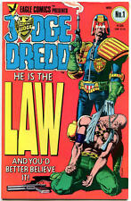 JUDGE DREDD #1-35, VF+/NM to NM, 35 issues, 1983, John Bolland, I Am the Law