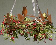 Vögel im Ast Dm 34cm Dekoring für Schalen u.z. Hängen Edelrost Rost Wildvögel