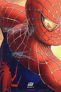 Spiderman 2 Original Movie Poster