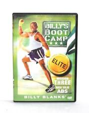 DVD VIDEO Exercise Routine BILLY'S BOOT CAMP ELITE MISSION THREE/ROCK SOLID ABS
