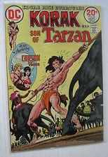 "Korak #53 (DC 9/73) FN/VF  ""The Tribe That Time Forgot!""/Joe Kubert-a. Wow!!!!"