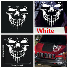 Car Hood Skull Decal Vinyl Large Graphic Sticker For Car Truck Tailgate Window