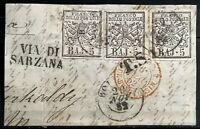 1852 > VATICAN > Papal State > Various Postmarked > Used.