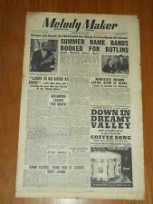 MELODY MAKER 1948 #760 FEB 28 JAZZ SWING LOUIS ARMSTRONG WINSTONE BENSON MUNRO