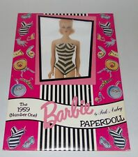 Barbie 1959 Paperdoll Reproduction Peck Aubry Sealed