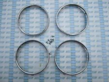 1958-1964 Chevrolet & GMC Headlight Retaining Rings. Stainless Steel. Set of 4