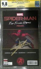 Spider-Man: Far From Home Prelude #1__CGC 9.8 SS__Signed by Tom Holland