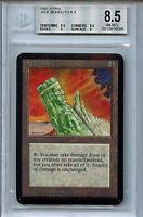 MTG Alpha Jade Monolith BGS 8.5 NM-MT+ Card Magic Amricons 6096