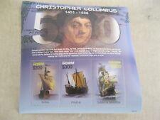 Guyana  Columbus sheetlet  sailing boat  sea explorer  I201802