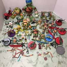 Mc Donalds Mutant Ninja Turtles Lot Of Toys.. And Accessories..