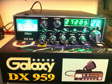 Galaxy 959,PURE GREEN Displays,Mosfet Finals,With Connex Turbo Echo,New Cb Radio