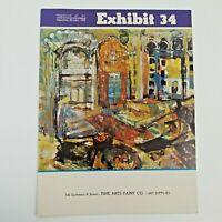Exhibit 34 Vintage Magazine of Art Sept. - Oct. 1969