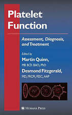 Platelet Function: Assessment, Diagnosis, and Treatment (Contemporary-ExLibrary