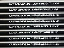 8 STIFF 55g TAPER TIP HIGH LAUNCH GRAPHITE IRON SHAFTS 355 GRAMAN 4-PW+AW