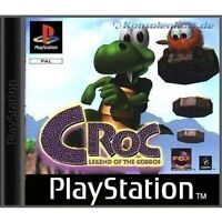 PS1 / Sony Playstation 1 - Croc: Legend of the Gobbos mit OVP OVP beschädigt
