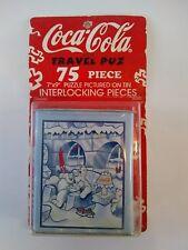 Coca Cola Polar Bear Travel Puzzle 75 Piece Collectable Coke