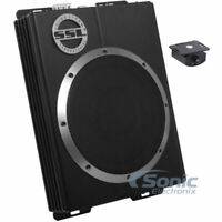 "SSL LOPRO10 10"" 1200W Slim Under-Seat Active Power Audio Car/Truck Subwoofer Sub"