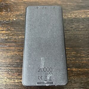 Mophie Powerstation XXL Portable Charger Black 20000 mAh PREOWNED!