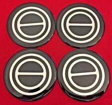 4pcs. 1980-1996 FORD F150 BRONCO VAN Center Caps EMBLEM STICKERS LOGOS BLACK