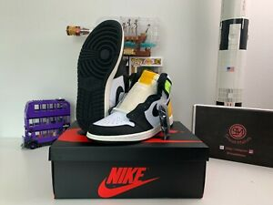 Air Jordan 1 High OG WHITE VOLT GOLD Size 4-13 555088-118/575441-118
