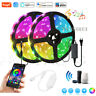 Wifi TUYA Smart Life Control 12V 5050 RGB RGBW RGBWW LED Strip Dimming + Power