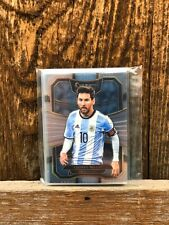 (Lot of 10) Lionel Messi - 2017-18 Panini Select Argentina Sharp & Pack Fresh