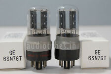 6SN7GT GE 1Match Pair TESTED ON AMPLITREX#2050012&2050014