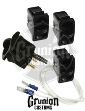 Air Ride Electric Manual Paddle Valve AirRide Suspension Bags FBSS 4 Pack