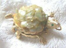 Vintage Sheffield Turtle Watch Pin Brooch Pendant Swiss Made