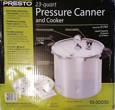 Presto Pressure Canner 23 01781 Free Delivery UK Stock *New*