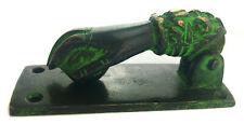 Türklopfer … Hand mit Kugel … Messing … Indien … Antik-Stil vintage … 10cm 350g