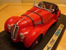 1/18 BMW 328 2.0 Litro recto seis Roadster Vintage Raro bávaro 1940