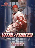 2002-03 Upper Deck MVP Vital Forces #VF8 Dominik Hasek - NM-MT
